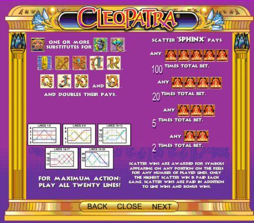 online casino game cleopatra bilder