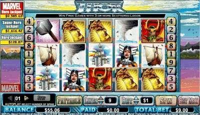 Play free Marvel Slot Games Online at SlotsUp.com